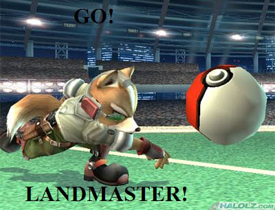 GO! LANDMASTER!
