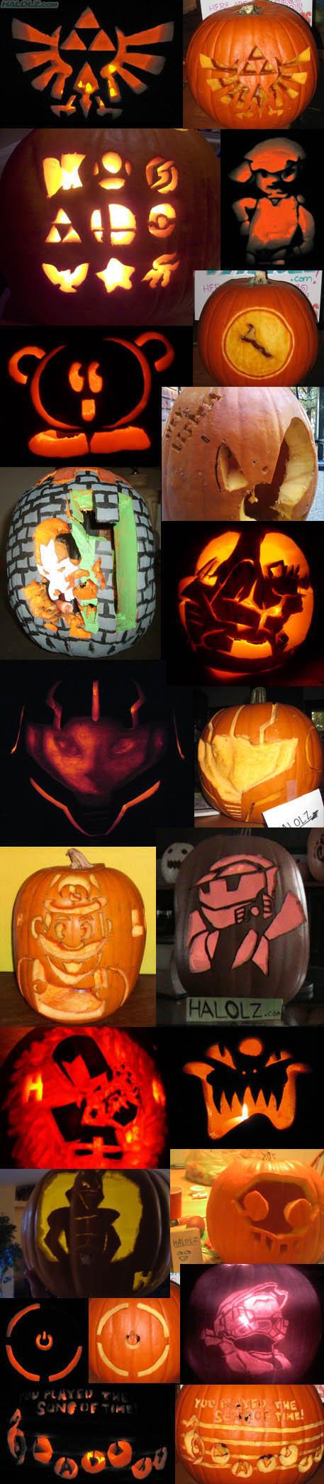 Haloween 2008 Pumpkin Extravaganza!
