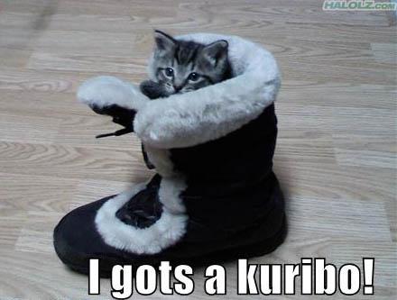 I gots a kuribo!