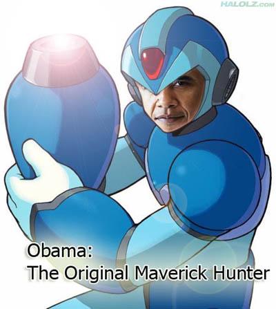 Obama: The Original Maverick Hunter