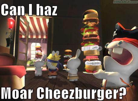 Can I haz Moar Cheezburger?