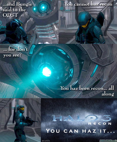 HALO 3 RECON - YOU CAN HAZ IT…