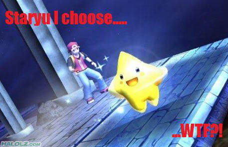 Staryu I choose….. WTF?!