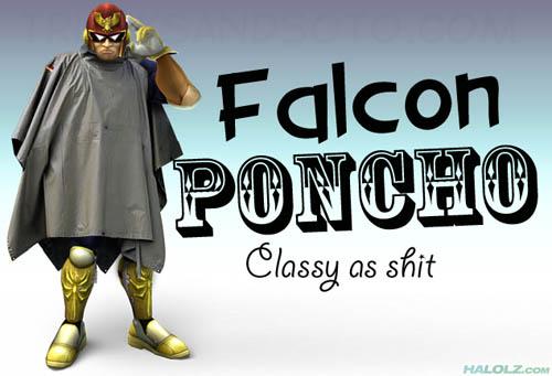 Falcon PONCHO - Classy as shit