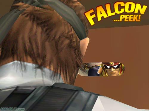 FALCON …PEEK!