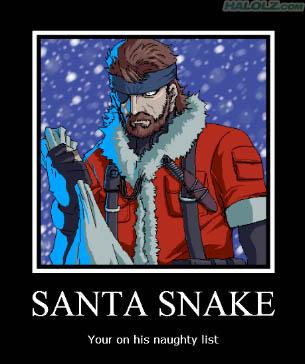 SANTA SNAKE - Your on his naughty list