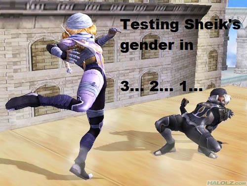 Testing Sheik's gender in 3… 2… 1…