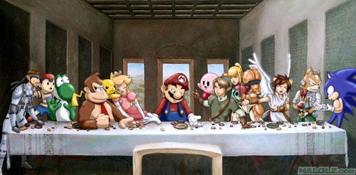 Super Smash Bros. Brawl The Last Supper