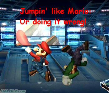 Jumpin' like Mario: Ur doing it wrong!