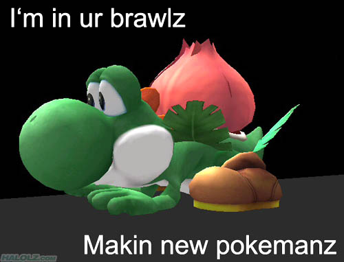 I'm in ur brawlz Makin new pokemanz