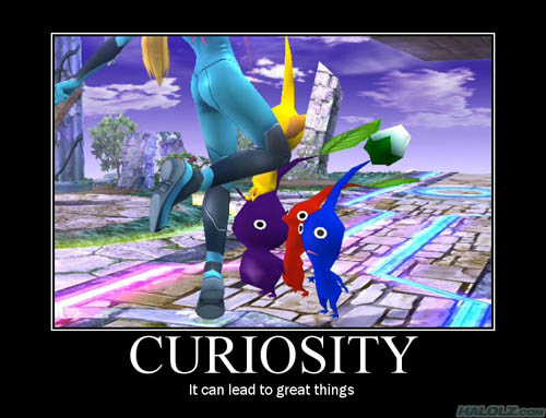CURIOSITY - It can lead to great things