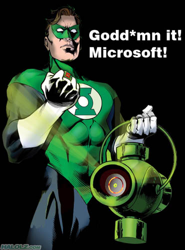 Godd*mn it! Microsoft!