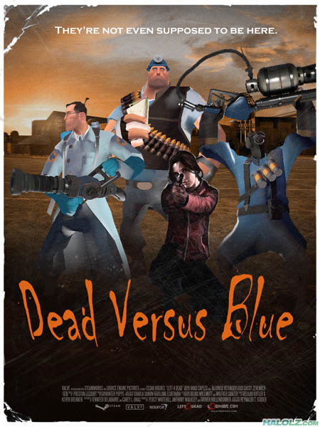 Dead Versus Blue - They're not even supposed to be here.