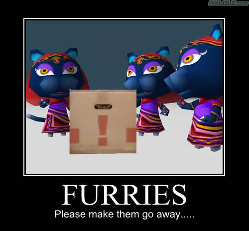 FURRIES - Please make them go away…..