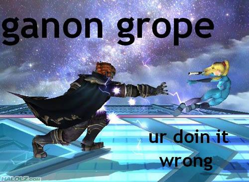 ganon grope ur doin it wrong