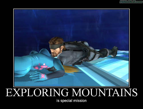 EXPLORING MOUNTAINS is special mission
