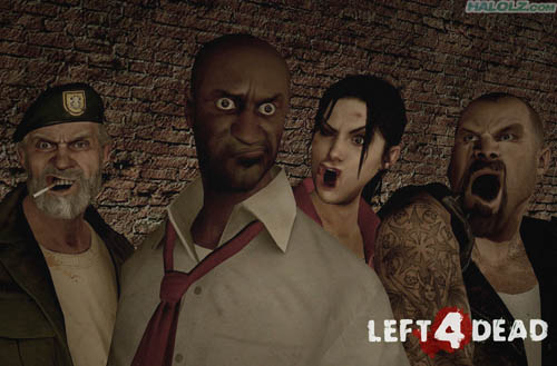 LEFT 4 DEAD FUNNY FACES