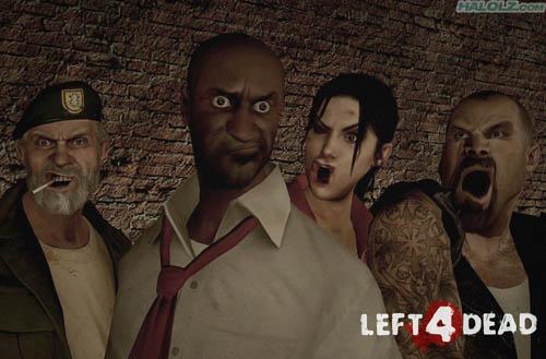 El Left 4 Dead tambien tiene algo gracioso