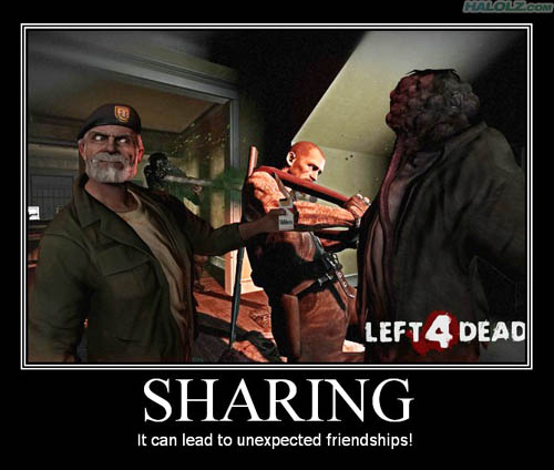 SHARING - It can lead to unexpected friendships!