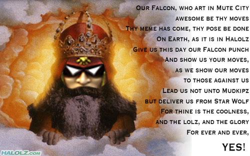 FALCON PRAYER