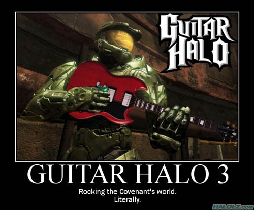 GUITAR HALO 3 - Rocking the Covenant's world. Literally.