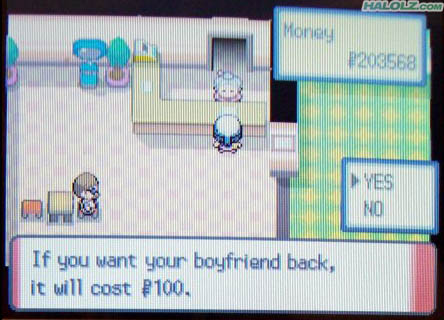 If you want your boyfriend back, it will cost $100.