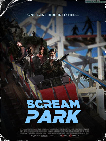 SCREAM PARK - ONE LAST RIDE INTO HELL.
