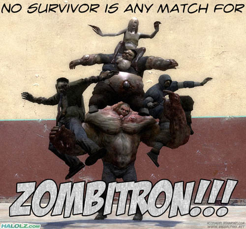 NO SURVIVOR IS ANY MATCH FOR ZOMBITRON!!!