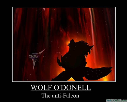 WOLF O'DONELL - The anti-Falcon