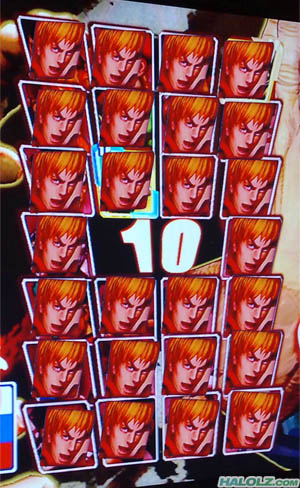 STREET FIGHTER IV - ONLINE EDITION - Character Select Screen