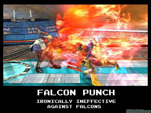 FALCON PUNCH - IRONICALLY INEFFECTIVE AGAINST FALCONS
