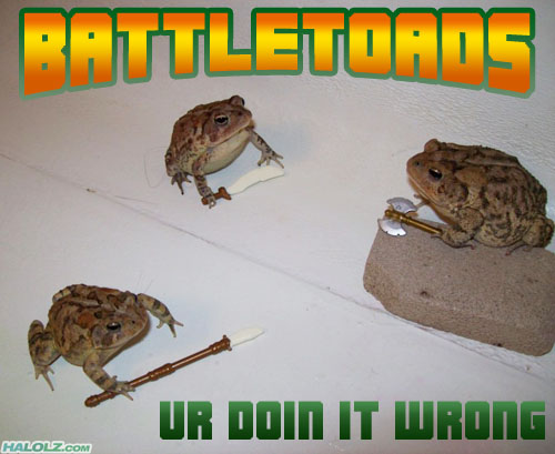BATTLETOADS - UR DOIN IT WRONG