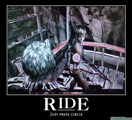 RIDE - Just press circle