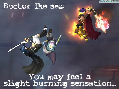 Doctor Ike sez: You may feel a slight burning sensation…