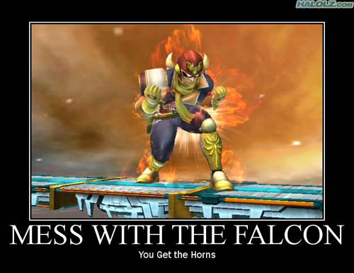MESS WITH THE FALCON - You Get the Horns