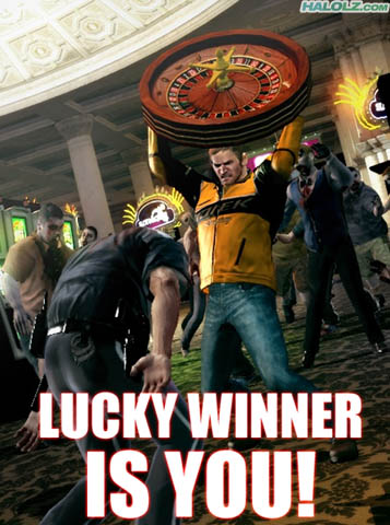 LUCKY WINNER IS YOU!