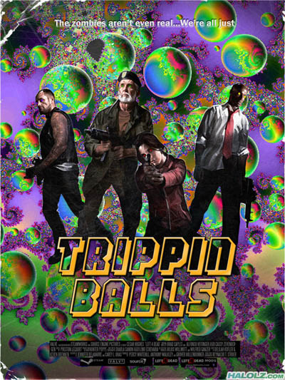 The zombies aren't even real…We're all just TRIPPIN BALLS