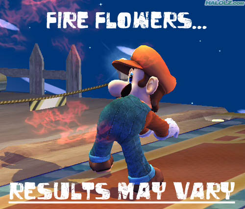 FIRE FLOWERS… RESULTS MAY VARY