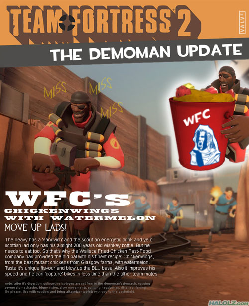 THE DEMOMAN UPDATE
