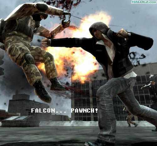FALCON… PAWNCH!