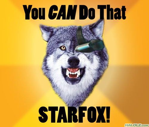 You CAN Do That STARFOX!