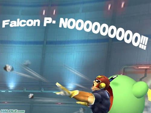 Falcon P- NOOOOOOOOO!!!