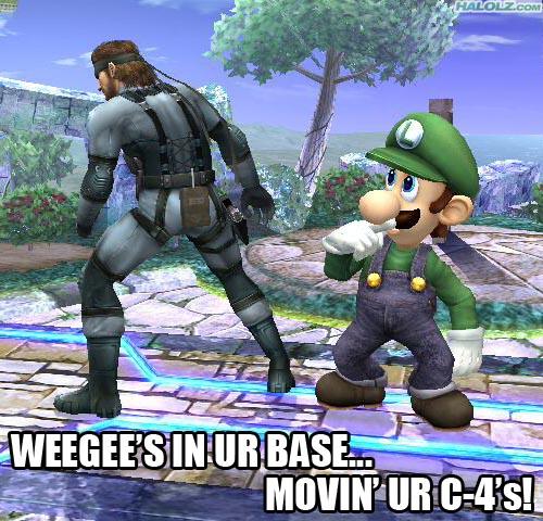 WEEGEE'S IN UR BASE… MOVIN' UR C-4's!