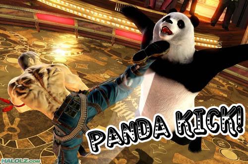 PANDA KICK!