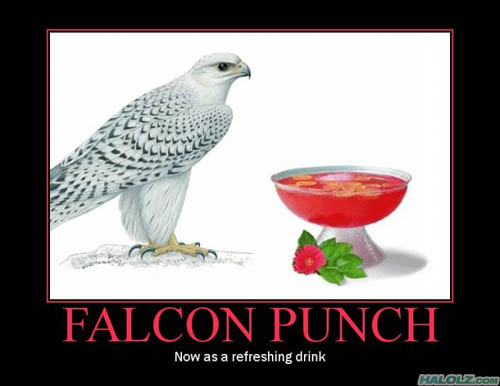 FALCON PUNCH - Now as a refreshing drink
