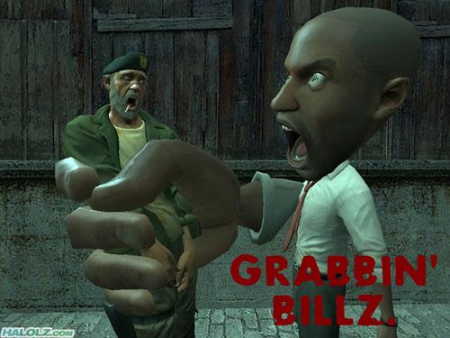 GRABBIN' BILLZ.