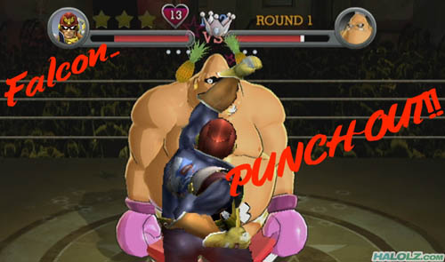 Falcon… PUNCH-OUT!!