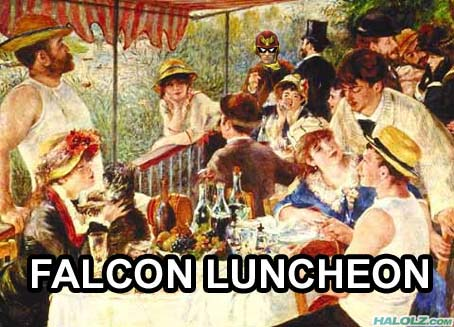 FALCON LUNCHEON
