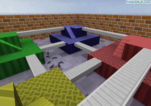Mario Kart 64 Block Fort Map for Counter-Strike