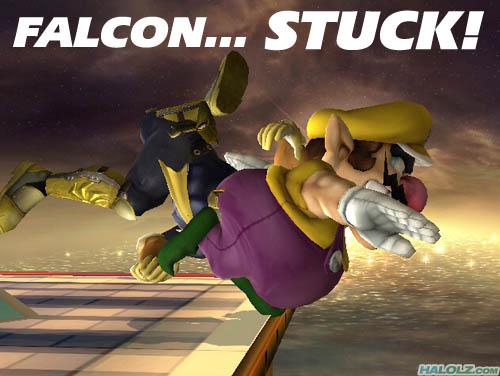 FALCON… STUCK!
